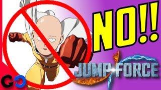 Jump Force : Que personajes NO estarán en el Juego // Que Heroes del ANIME no pueden estar? thumbnail