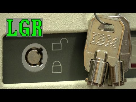 Why did old PCs have key locks? [LGR Retrospective]