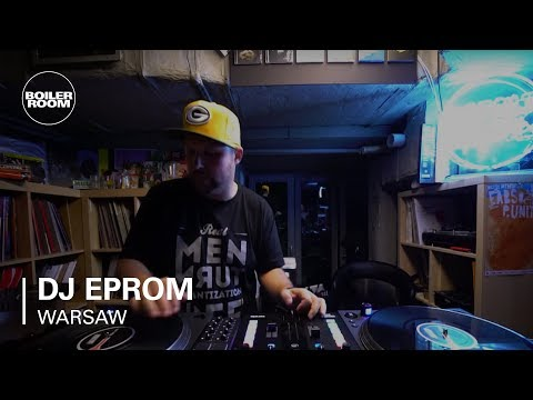 DJ Eprom Boiler Room From The Counter Warsaw DJ Set