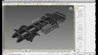 Truck 3D animation DEMO Анимация трансформируемой модели грузовика. Анимация трансформации 3ds max