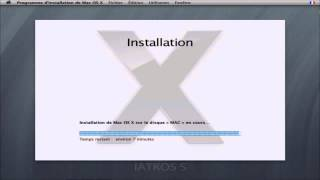 1/1 Tuto Complet Comment installer iAtkos Mac OSx86 Stable sur Pc Windows Hackintosh francais