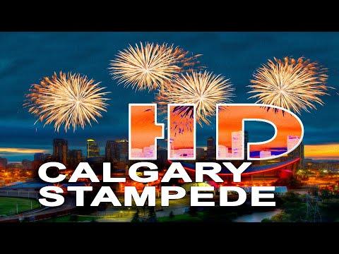 STAMPEDE RODEO   CALGARY - ALBERTA , CANADA - A TRAVEL TOUR - HD 1080P