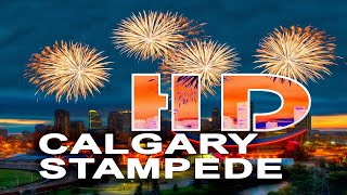CALGARY , ALBERTA / CANADA - STAMPEDE - A WALKING TRAVEL TOUR - HD 1080P