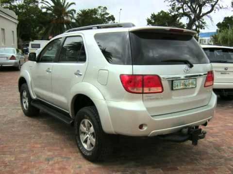 2007 Toyota Fortuner 3 0 D4d 4x4 7 Seater Auto For Sale