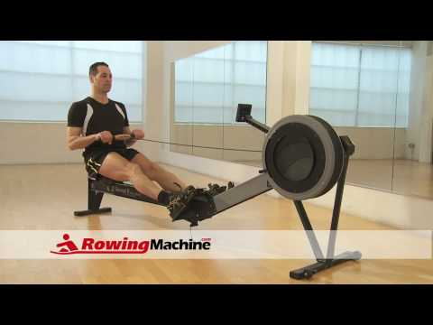 rowing machine high intensity interval