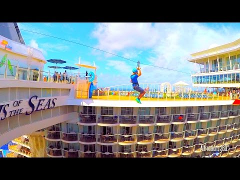 [HD] Tour of the Largest Cruise Ship - Oasis of the Seas Tour - Megaship