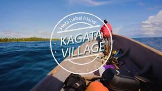 Solomon Islands. The Experience, Eco Resort Travel Destination, Santa Isabel Island. Kagata Village.