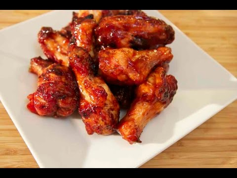 Baked Honey BBQ Wings - Cooked by Julie - Episode 164