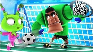 Learn Soccer   Preschool Learning Videos   Rob The Robot