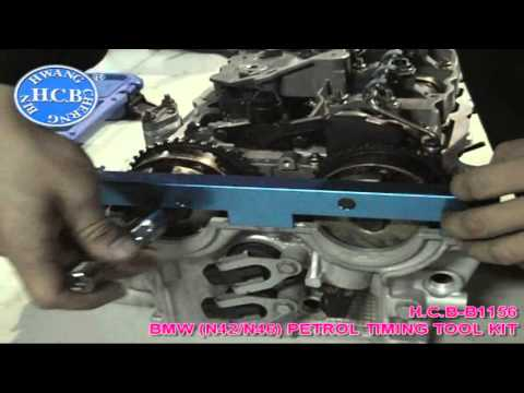 HCB-B1156 BMW (N42/N46) PETROL TIMING TOOL KIT - YouTube