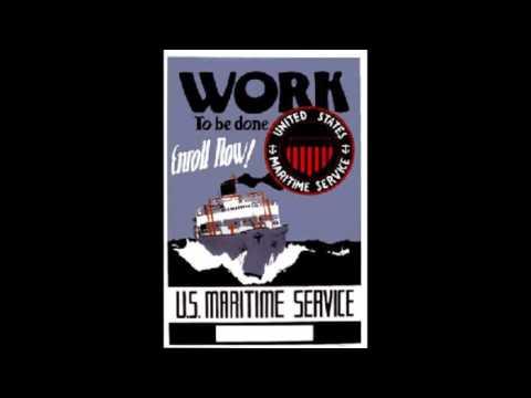 Men At Sea - Landlocked Shipyards 07-18-1943