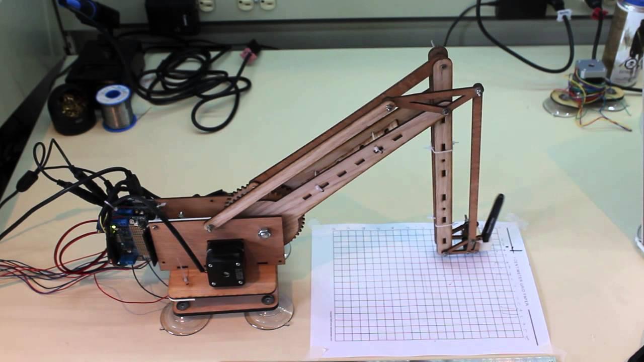 3 DOF Open Source Robot Arm Is Just The Beginning | Hackaday