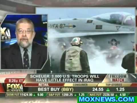 "Michael Scheuer - ""Israel Is Spying On The U.S., Stealing Technology & Bribing Congress"""