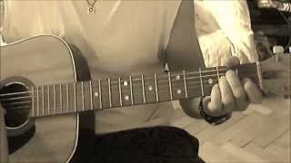 Michael Brook - Salvation Mountain (Acoustic Guitar Cover)