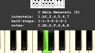Mela Manavati Scale/Raga (5)