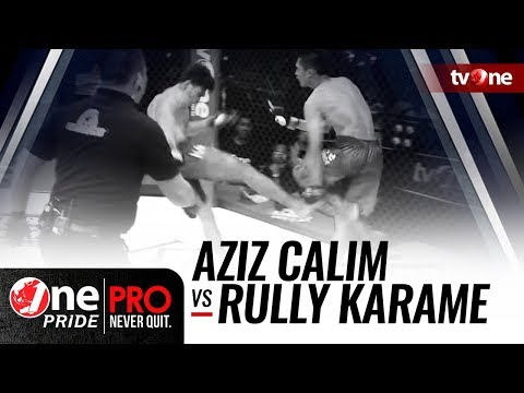 [HD] One Pride MMA #3 : Aziz Calim VS Rully R. Karame - Bantamweight Ranking