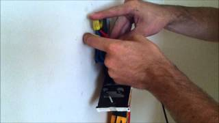 Replacing a line voltage thermostat