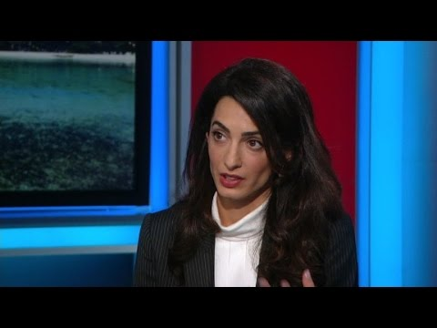 Amal Clooney: Sanction Maldives to get politician's ...