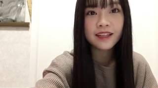 프로듀스48에 출연했던 모토무라 아오이(本村碧唯)의 2018년 10월 21일...