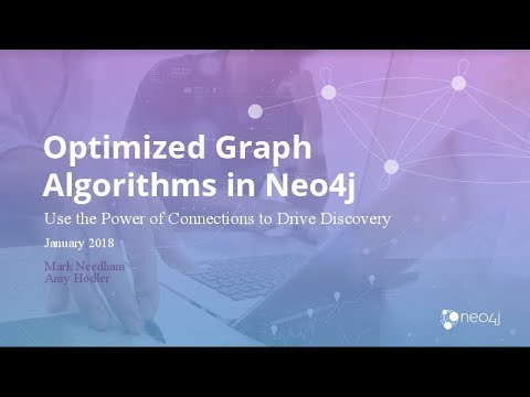 Graph Analytics: Graph Algorithms Inside Neo4j