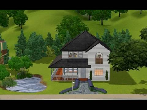 Building A Small Residential House In The Sims 3 - Youtube