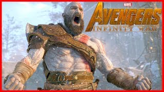 GOD OF WAR Trailer in AVENGERS:INFINITY WAR Style