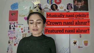 Musically Nasıl kullanılır? LEVEL1 (How to use Musically? With English subtitles)