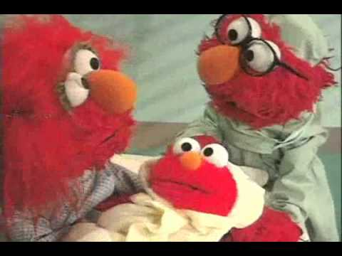 Elmo's World explains about birthdays