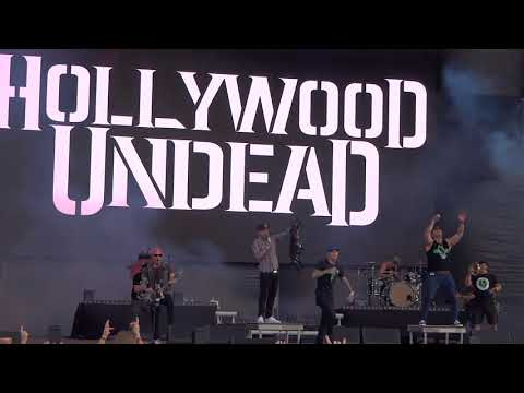 Hollywood Undead - Riot @Live in Volt Festival, Sopron