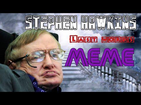 Steve Hawkins Last Word (Meme)