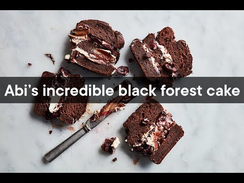 Abi's Incredible Black Forest Cake   Woolworths TASTE Magazine