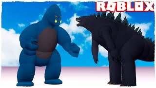 🤘 GODZILLA VS KING KONG EN ROBLOX