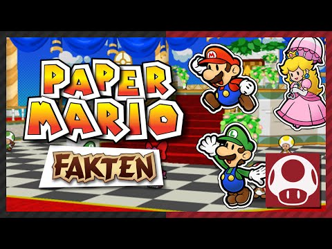 Partner in Sticker Star? ❤️ PAPER MARIO FACTS & TRIVIA • Gaming Physics