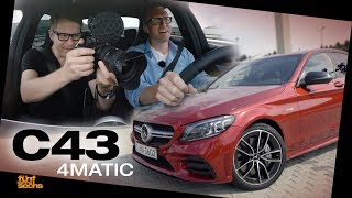 Mercedes-AMG C 43 4MATIC / Test Drive & Review (German)