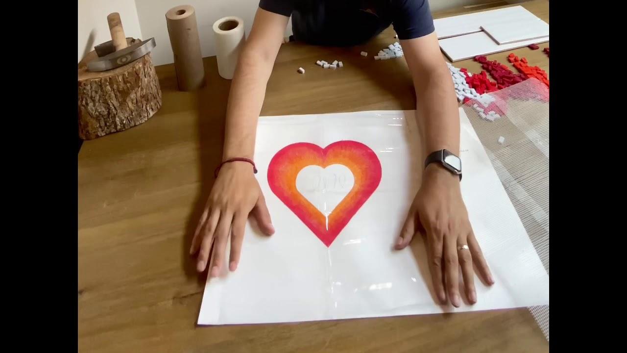 Making a Mosaic at Home