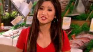 Brenda Song - Pass The Plate - Fish #2