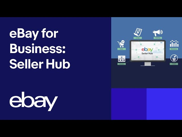 Ebay For Business Seller Hub Youtube