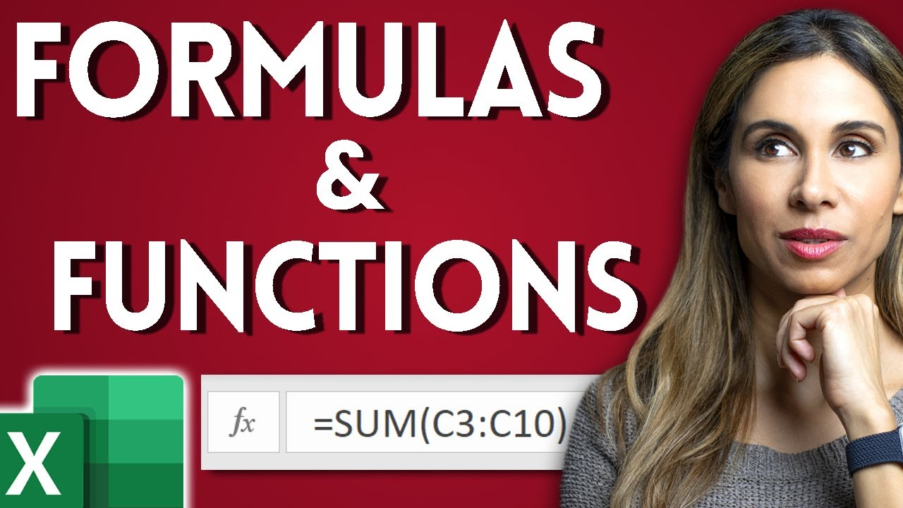 Basic Excel Formulas and Functions you need to know!