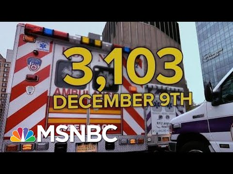 U.S. Tops 3,000 Daily Covid Deaths Setting New Record   MTP Daily   MSNBC