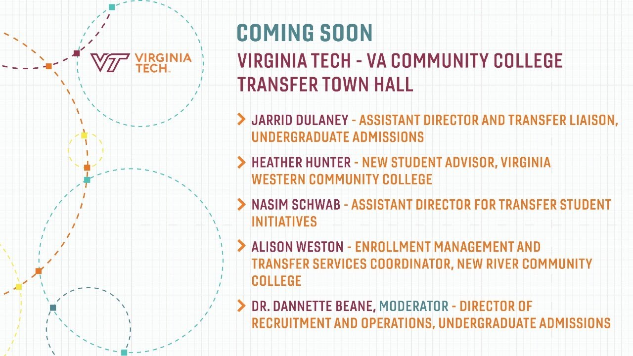 Transfer Student Admissions Virginia Tech