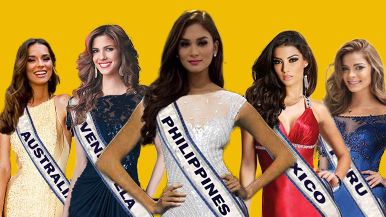 TOP 5 Contestants Miss Universe 2015/2016 I want to see in FINALE