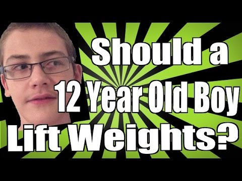 Should a 12 Year Old Boy Lift Weights? - YouTube