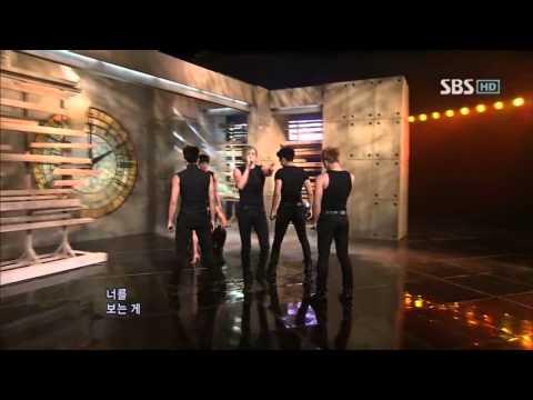 2PM - Without U @ SBS Inkigayo 인기가요 100509