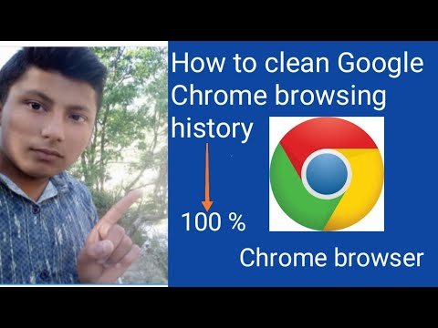 How to clean Google Chrome  browsing history 2019 || Online Boss