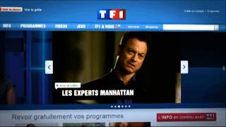 Les Experts Manhattan  a revoir tf1 fr TF1 6 9 2011