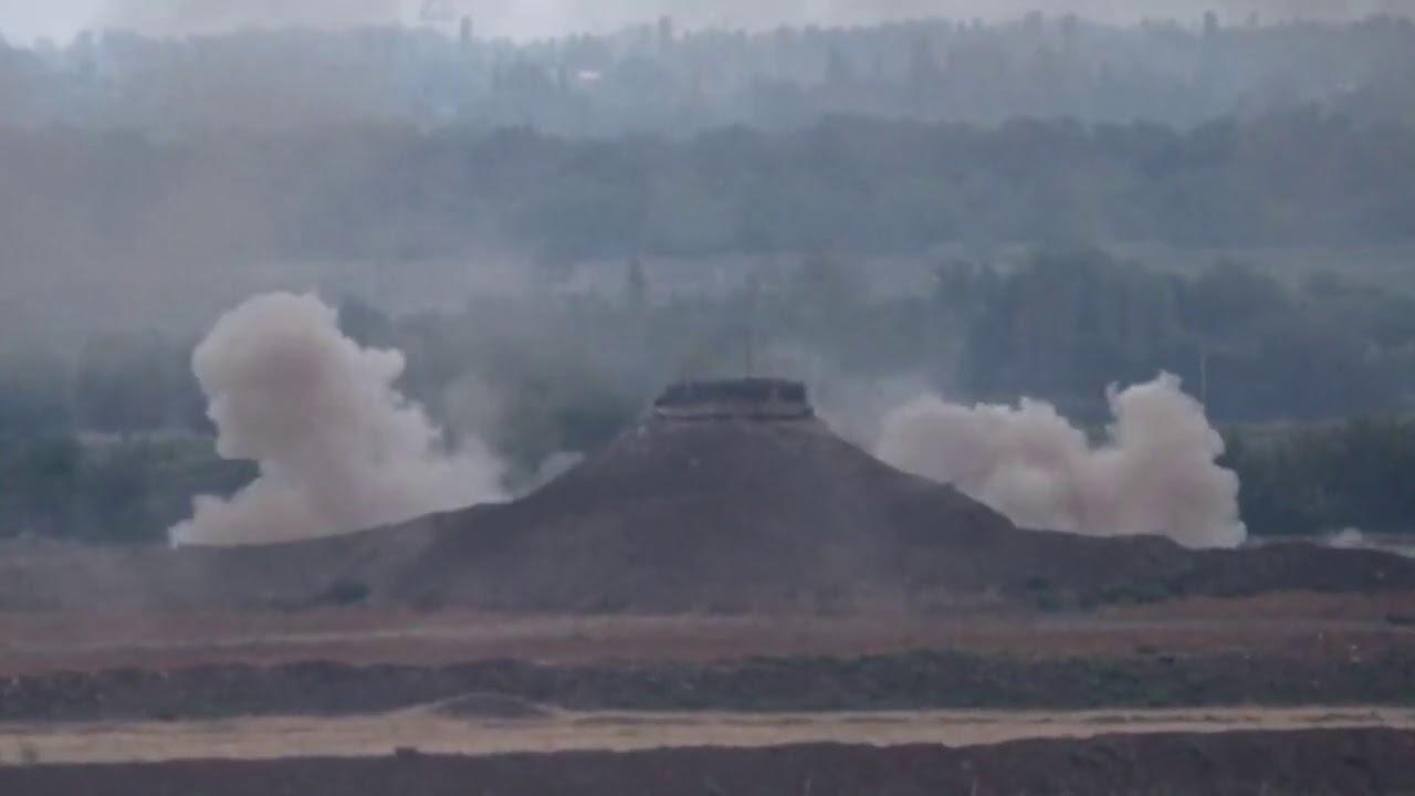 Նոր տեսանյութ. Ադրբեջանական զինուժը կրակի մեջ