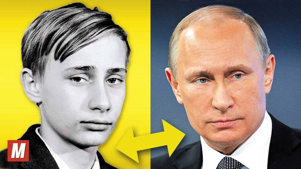 Vladimir Putin From 6 To 64 Years Old Youtube