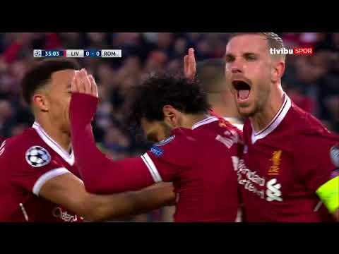 UEFA Şampiyonlar Ligi Yarı Final | Liverpool 5-2 Roma Maç Özeti