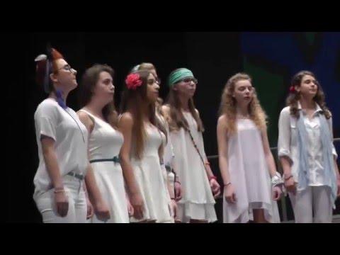 Coro liceo Galileo Galilei Trieste (canzone 2).  9 maggio 2016