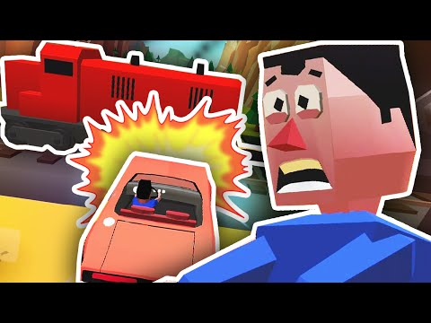 Thumbnail: DRIVING INTO A TRAIN!! | Faily Brakes